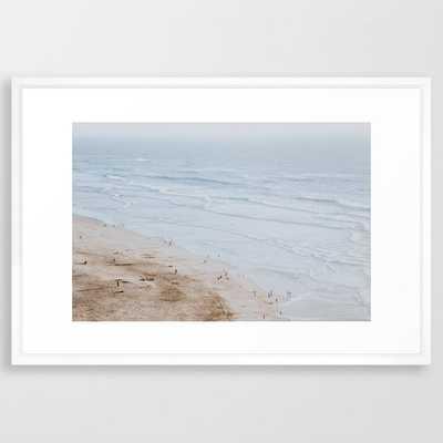 Ocean Beach / San Francisco, California Framed Art Print - Society6
