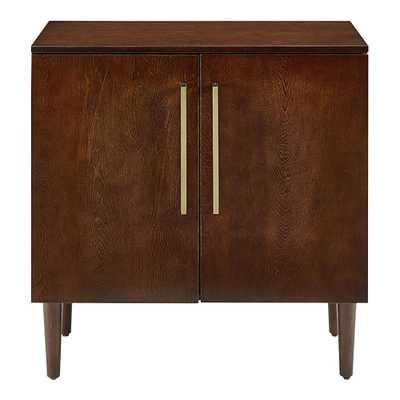 Small Mahogany Wood Taylor Storage Cabinet - World Market/Cost Plus