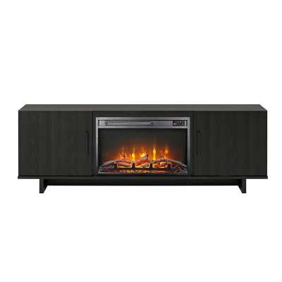 Genrich TV Stand for TVs up to 65 inches with Fireplace Included - Wayfair