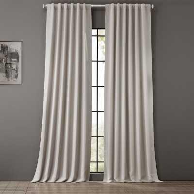 Cairo Solid Color Room Darkening Rod Pocket Curtain Panels (Set of 2) - Wayfair
