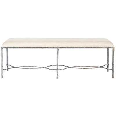 GRACE UPHOLSTERED BENCH - Perigold