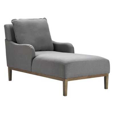 Melrose Chaise Lounge, Antique Gray - Wayfair