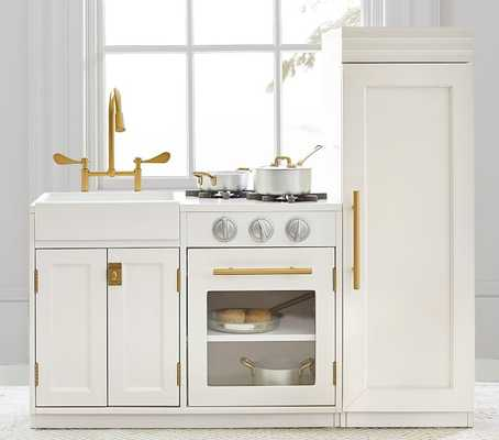Chelsea All-in-1 Kitchen, Simply White, Flat Rate - Pottery Barn Kids