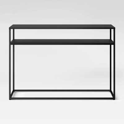 Glasgow Metal Console Table Black - Project 62 - Target