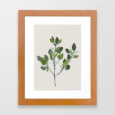 Eucalyptus Branch Framed Art Print - Society6