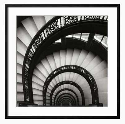 Rookery Stairwell Sq By Jim Christensen - art.com