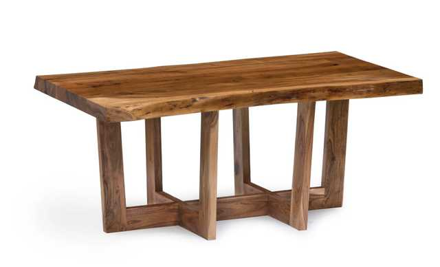 Berkshire Natural Wood Live Edge 42-inch Coffee Table - Overstock