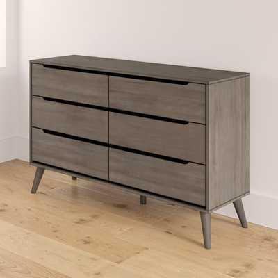 Mason 6 Drawer Double Dresser - Wayfair
