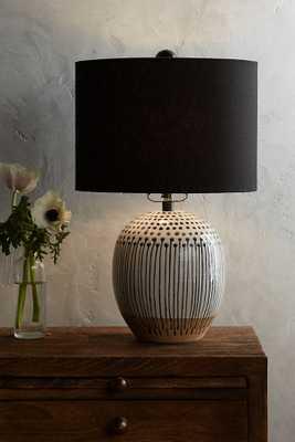Uteki Painted Table Lamp - Small - Anthropologie