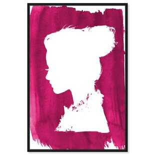 Fashion and Glam Beaute Strawberry Portraits - Graphic Art Print on Canvas - Wayfair