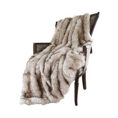 Demartino Faux Fur Throw - Wayfair