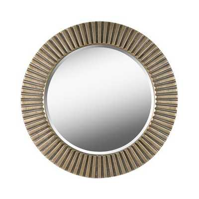 Round Eclectic Accent Mirror - Wayfair