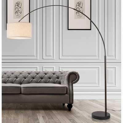 "Jayla 81"" Arched Floor Lamp - Wayfair"
