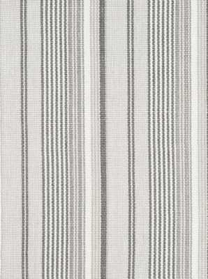 GRADATION TICKING INDOOR/OUTDOOR RUG, 2 x 3' - Dash and Albert