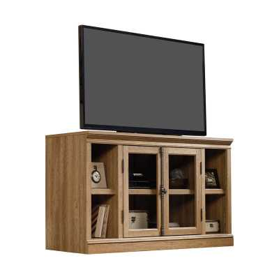 "Bowerbank TV Stand for TVs up to 60"" / Scribed Oak - Wayfair"