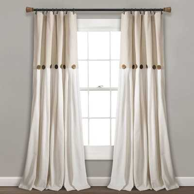 Beckham Window Solid Semi-Sheer Rod Pocket Single Curtain Panel - Wayfair