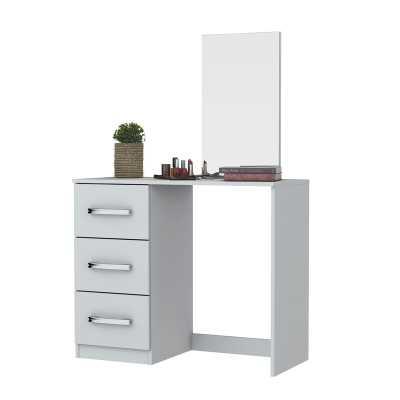 Saito Vanity Set with Mirror - Wayfair