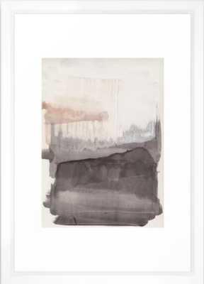 "Winter is coming Framed Art Print, Vector White 15"" x 21"" - Society6"