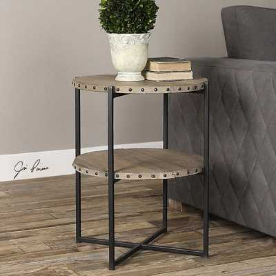 KAMAU ACCENT TABLE - Hudsonhill Foundry