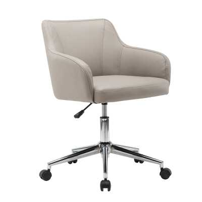 Vance Comfy and Classy Home Office Mid-Back Desk Chair - Wayfair
