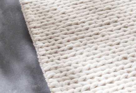 Arviso Hand-Woven Wool White Area Rug - Wayfair