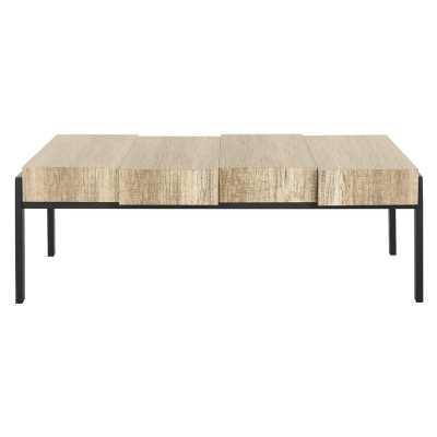 Loggins Rustic Coffee Table - Wayfair