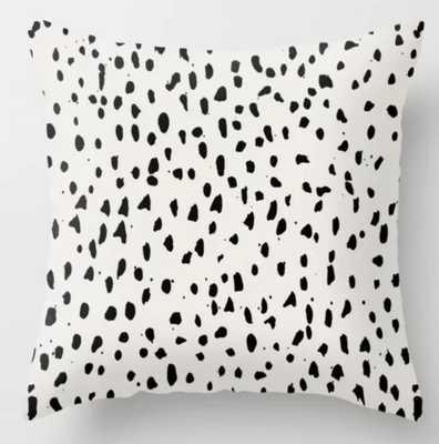 Urban Dot Throw Pillow -18x18 - Society6