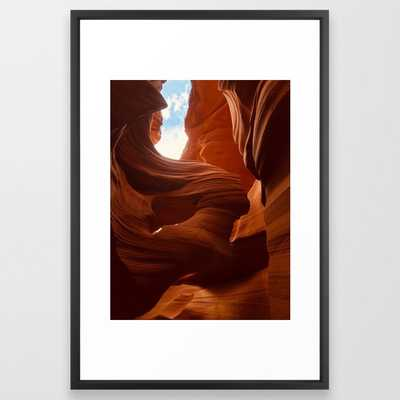 Antelope Canyon - Vector black - Society6