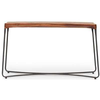 "Hayhurst 55"" Solid Wood Console Table - Wayfair"