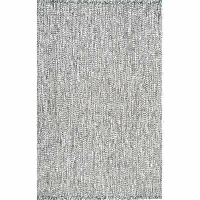 Oxfordshire Gray Indoor/Outdoor Area Rug - Wayfair