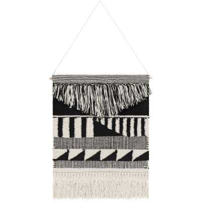 Cotton Latham Wall Hanging with Rod Included - Wayfair