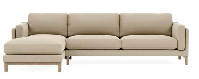 GABY 3-Seat Left Chaise Sectional - Interior Define