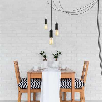Bryker 1-Light Single Bulb Pendant (Set of 3) - Wayfair