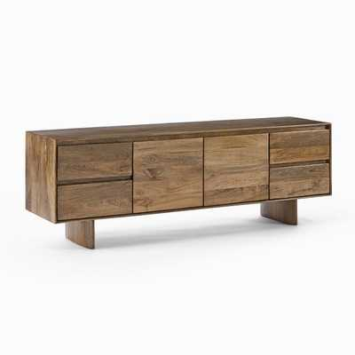 "Anton Solid Wood Media Console (80"") - West Elm"