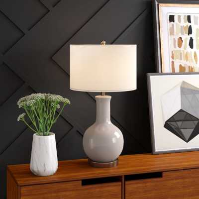 "Patroclus 29"" Table Lamp - gray - Wayfair"