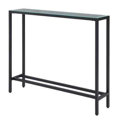 "Coppock Narrow Console Table-black 30""x36x8"" - Wayfair"