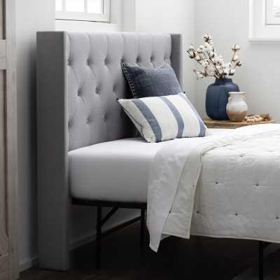 Abriela Upholstered PanelHeadboard - Wayfair