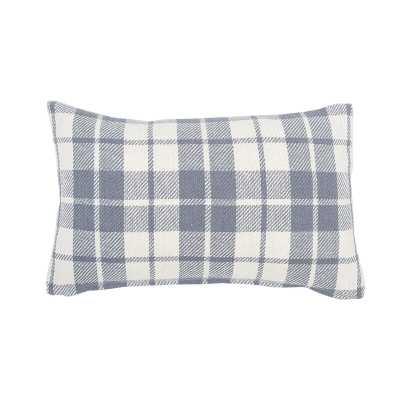 Pinheiro Plaid Cotton Lumbar Pillow - Birch Lane