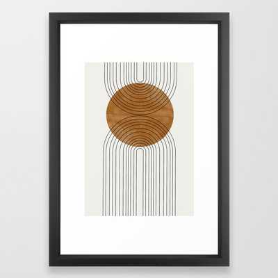 Abstract Flow Framed Art Print - Society6