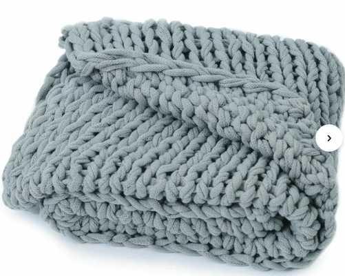 Brister Chunky Knit Cable throw - Wayfair