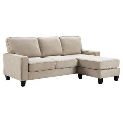Palisades Reversible Sectional with Ottoman - Wayfair