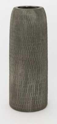 PHADRA GROOVED VASE- TALL - McGee & Co.