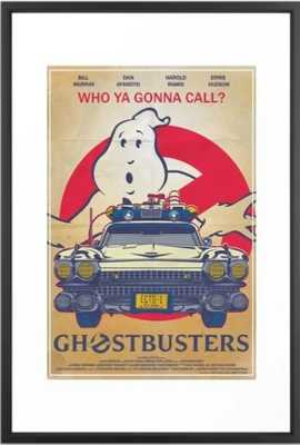 Who ya gonna call? Ghostbusters Movie Poster Framed Art Print - Society6
