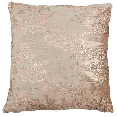 Pink Abstract Throw Pillow - Wayfair