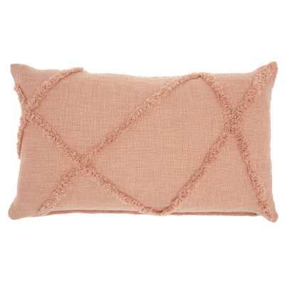 Remi Cotton Abstract Lumbar Pillow - Wayfair