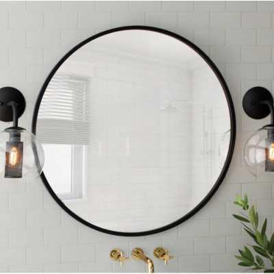 "Hub Modern and Contemporary Accent Mirror 24"" Round - AllModern"