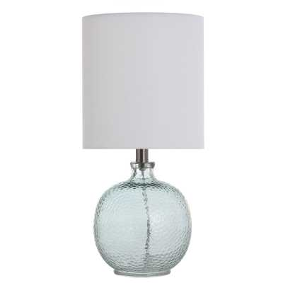 "Barnwell 20"" Table Lamp - Light Aqua Blue - Wayfair"