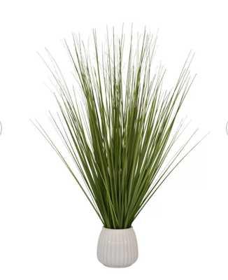 """25.5"""" Artificial Foliage Grass in Pot - Wayfair"""