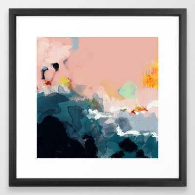 la mer framed art print - Society6
