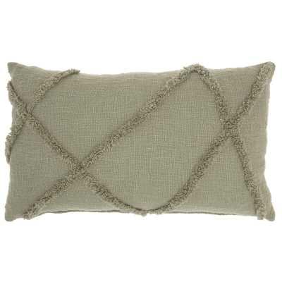 Arpana Cotton Abstract Lumbar Pillow - AllModern